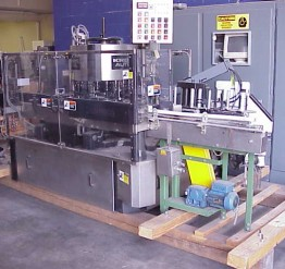 Used 'as is' Krones Autocol 20-head Pressure Sensitive Labeler - SOLD