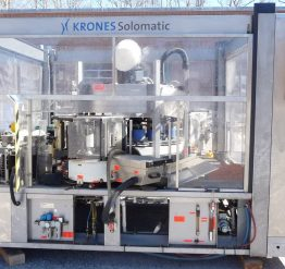 'Used' as is Krones Solomatic Cold Glue Cut & Stack Labeler